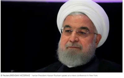 The Iranian president accused the US of savagery after the new sanctions