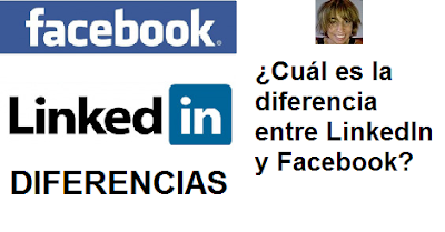 ¿Cuál es la diferencia entre LinkedIn y Facebook?