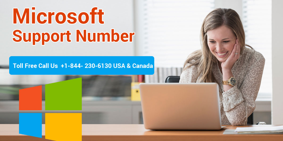 Microsoft Support Number | 1-844-230-6130