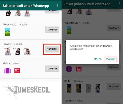 cara membuat stiker whatsapp pakai foto sendiri