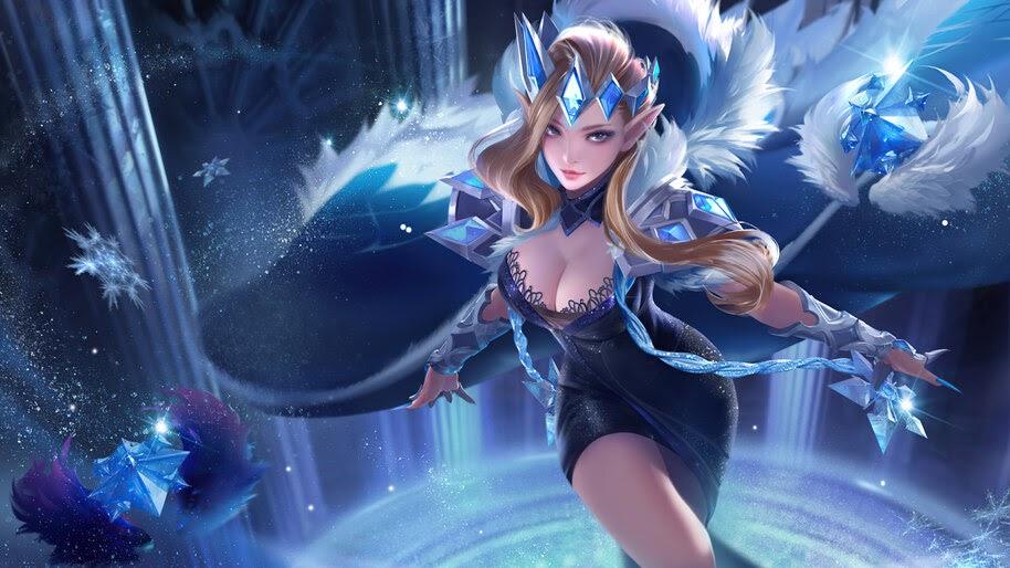 Fantasy, Girl, Magician, Wizard, 4K, #6.744