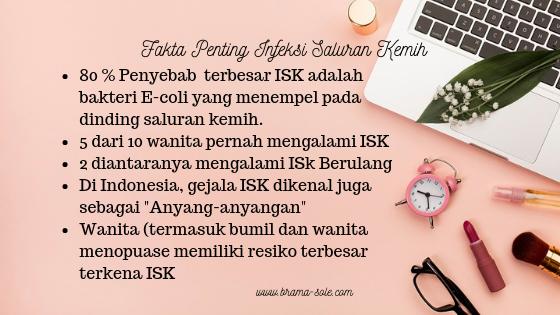 fakta penting tentang ISK yang perlu kalian tahu