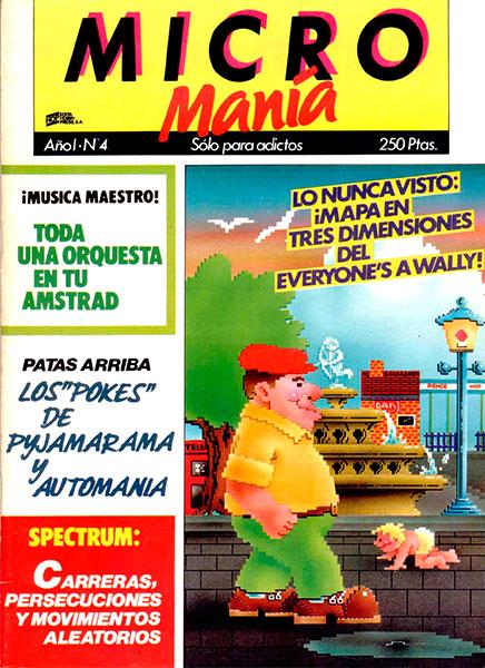 Revista Micromanía Número 4