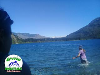 Bahía Las Percas - Lago Epuyén, Chubut - Parque Municipal Pto Bonito.