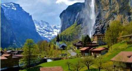 Tempat Wisata Paling Indah Untuk Dikunjungi Di Negara Swiss Wengen