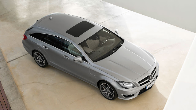 Mercedes-Benz CLS 63 AMG Shooting Brake: The performance trendsetter up