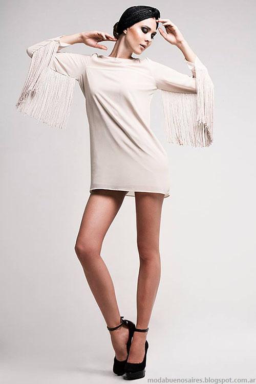 Ropa de moda invierno vestidos de fiesta.