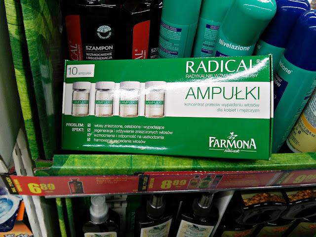 Farmona - Ampułki Radical, Biedronka promocje