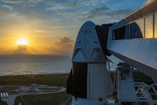 HASTA EL SÁBADO: Cancelado el lanzamiento de la nave de SpaceX por mal tiempo