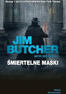 Śmiertelne maski - Jim Butcher
