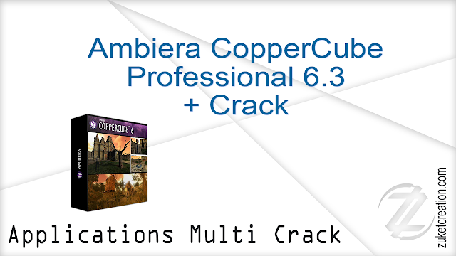 Ambiera CopperCube Professional 6.3 + Crack