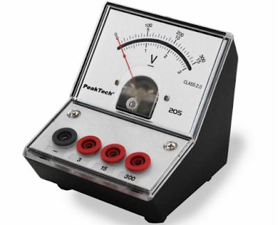 volt meter analog