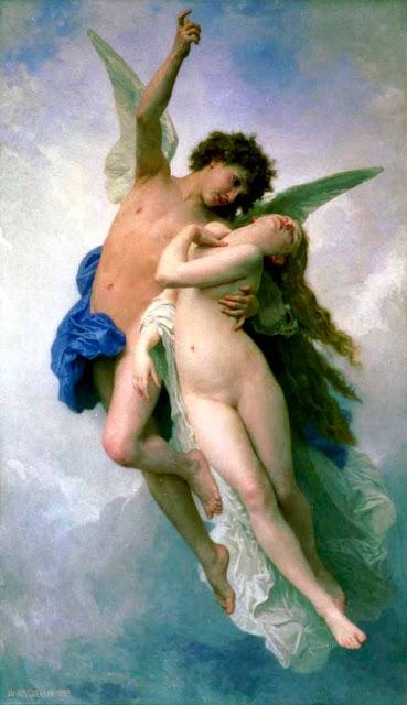 Адольф Вильям Бугро - Психея и Амур (1889)