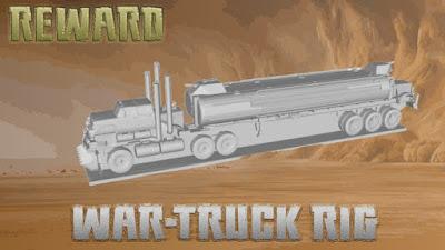 War Truck Rig STL