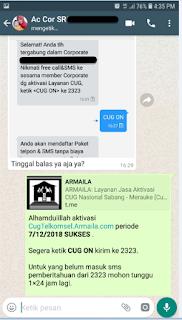 Testimoni CUG Telkomsel Kartu Pasangan Kartu Komunitas Kartu Soulmate Kartu Couple 10 Desember 2018