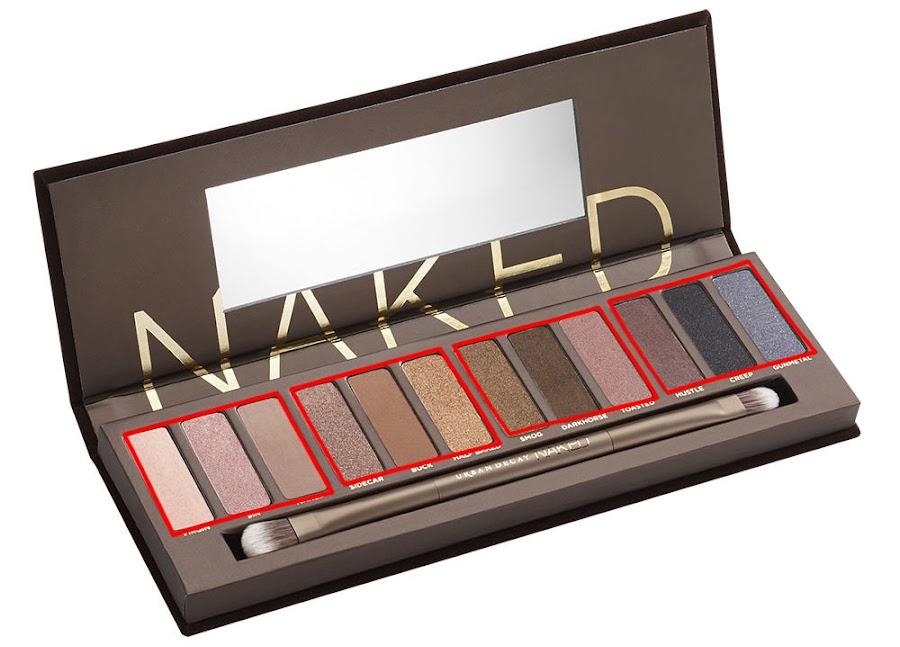 Asi se debe usar la Paleta de maquillaje Naked para el maquillaje de fotografia
