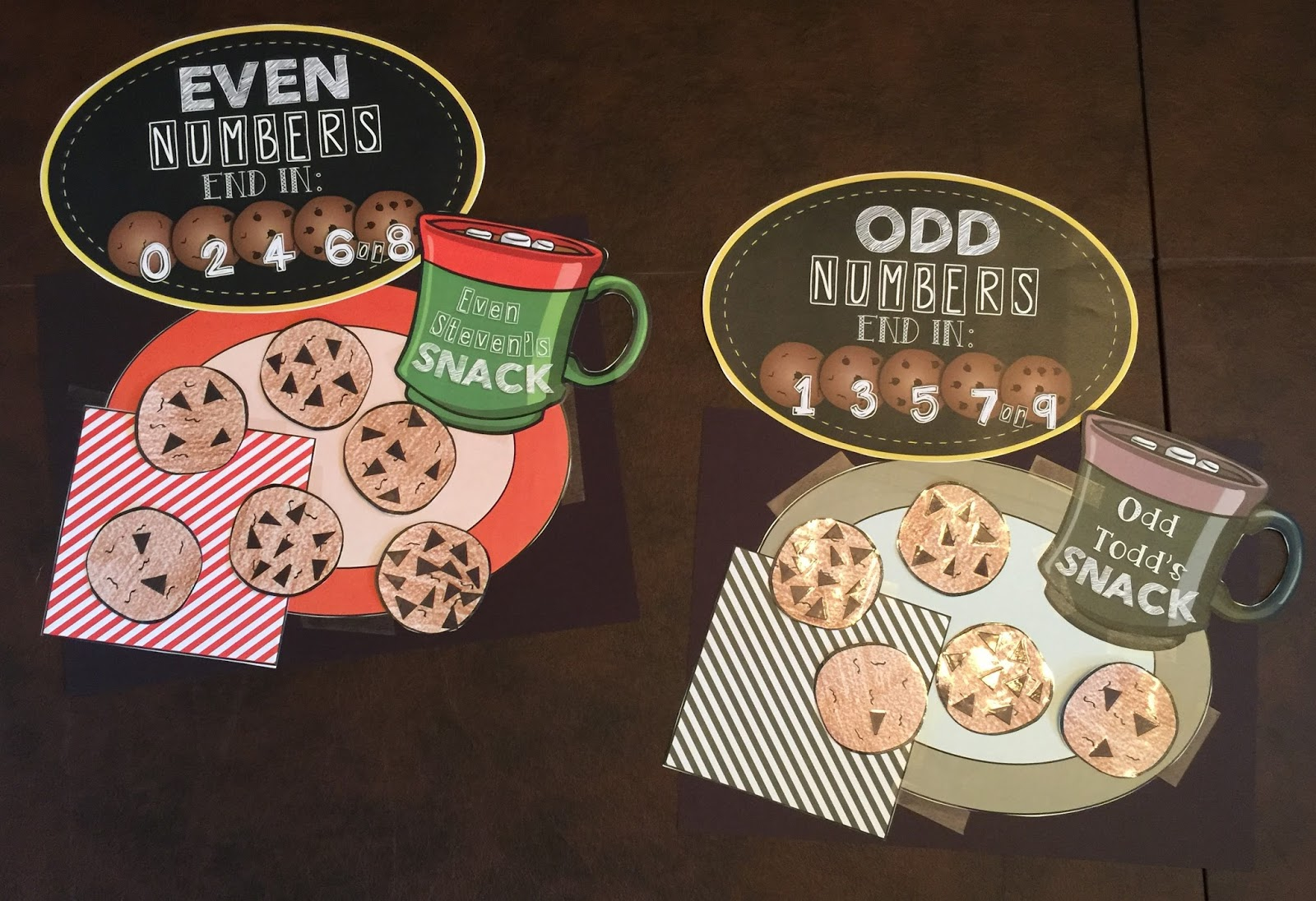 Teaching With Terhune Even And Odd Numbers Math Unit