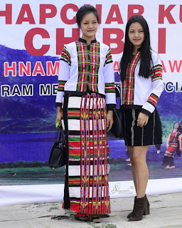 Miss Mizoram Contestant Ten Chapchar Kut An Hmang Ve