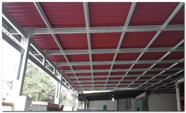 harga pasang atap baja ringan bogor fitrah konstruksi: kanopi depok ...