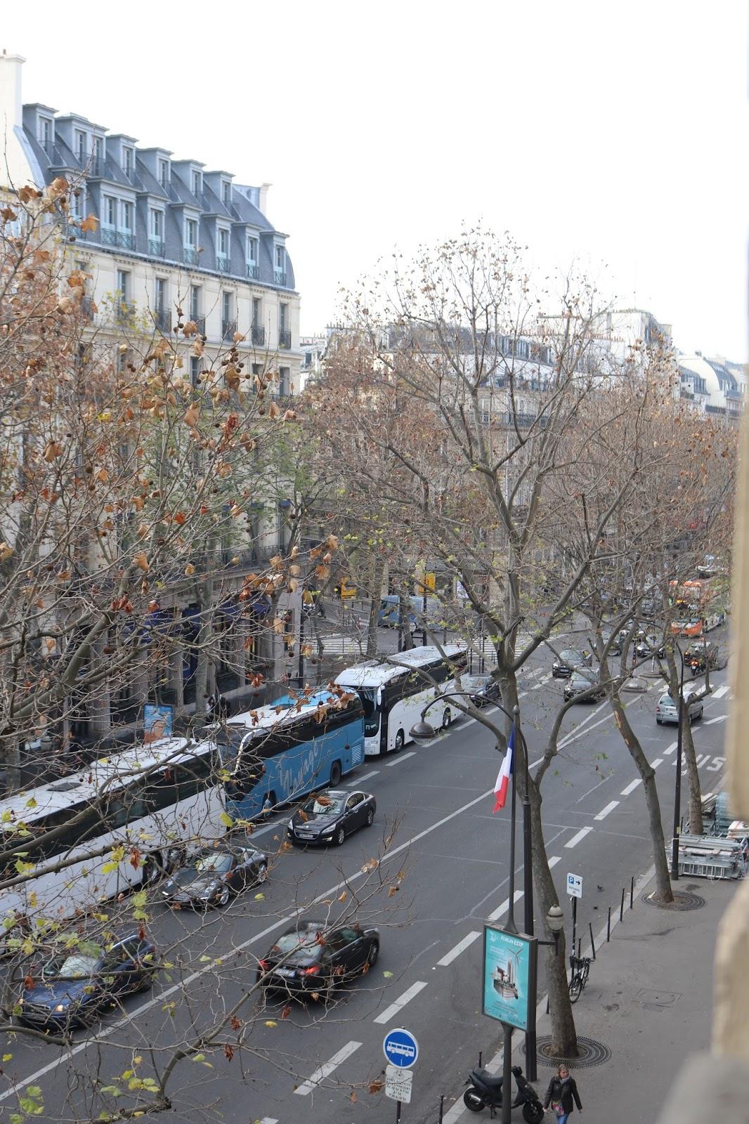 View From Hotel Indigo, Paris, France, KALANCHOE
