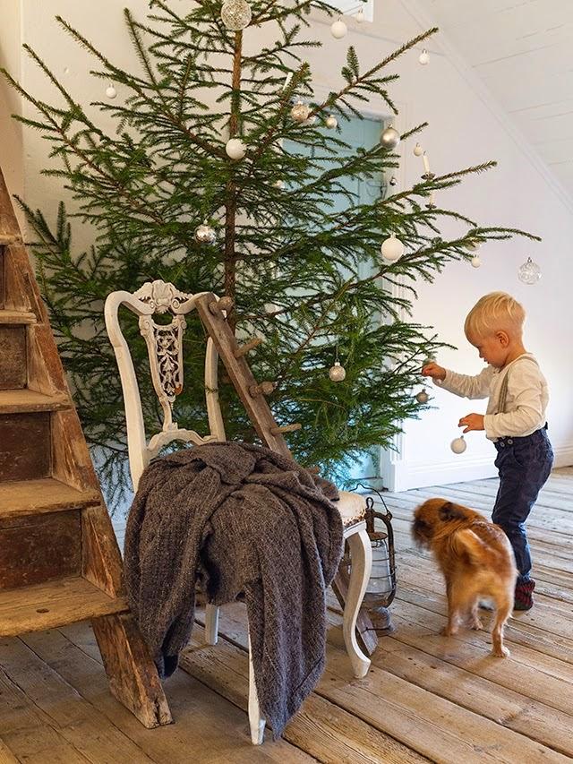 Estilo nórdico Navidad