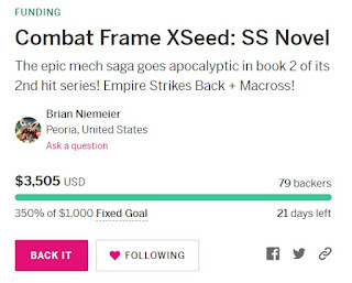 Combat Frame XSeed: SS 350%