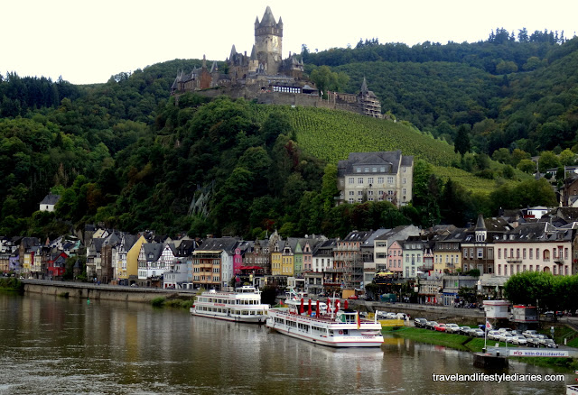 Mosel, Germany: Gorgeous Cochem Panorama Skyline