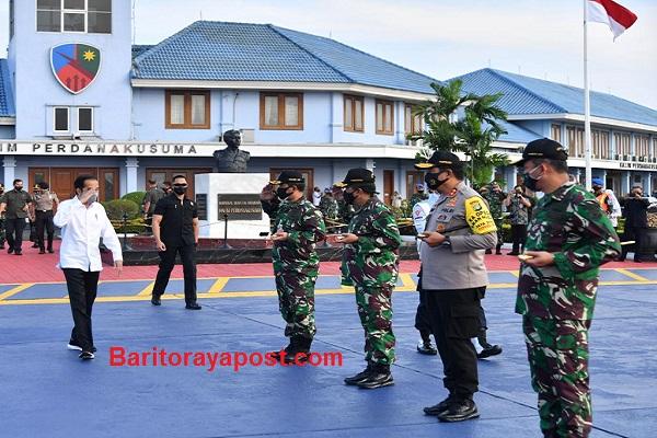 Presiden Tinjau Food Estate hingga Posko Penanganan Covid-19 di Kalteng