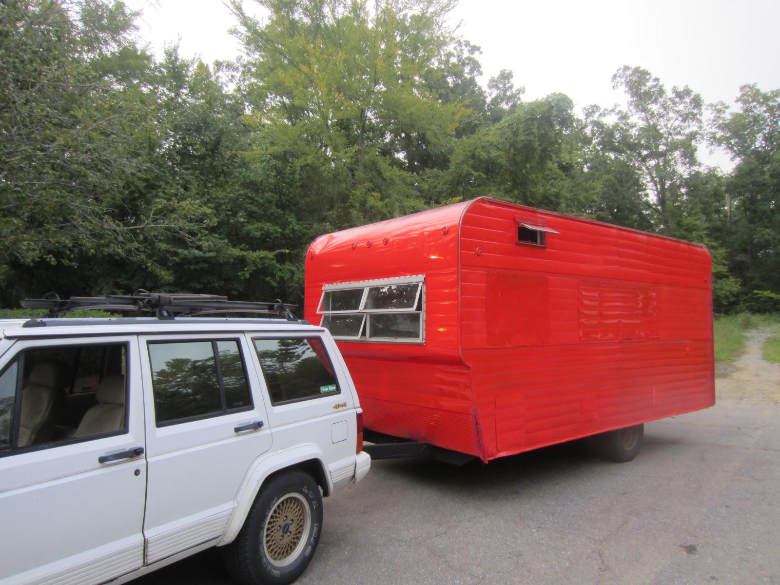 vintage nomad travel trailer. Black Bedroom Furniture Sets. Home Design Ideas
