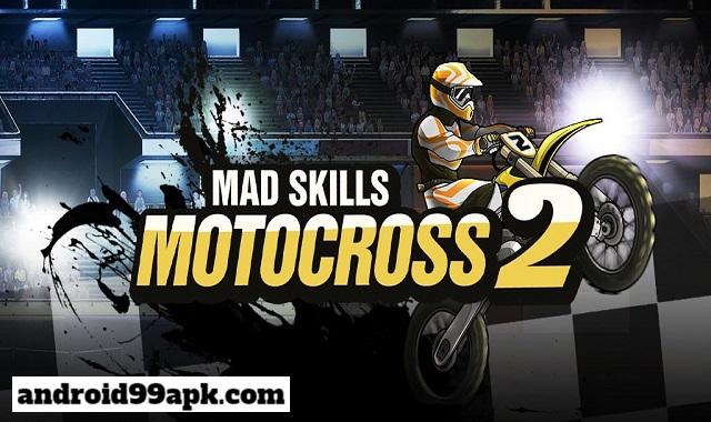 لعبة Mad Skills Motocross 2 v2.13 مهكرة (بحجم  86 MB) للأندرويد