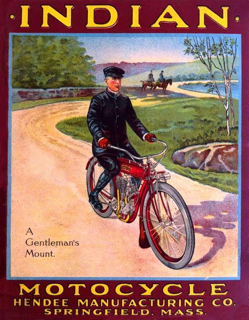 Racing Cafè: Vintage Brochures: Indian 1910