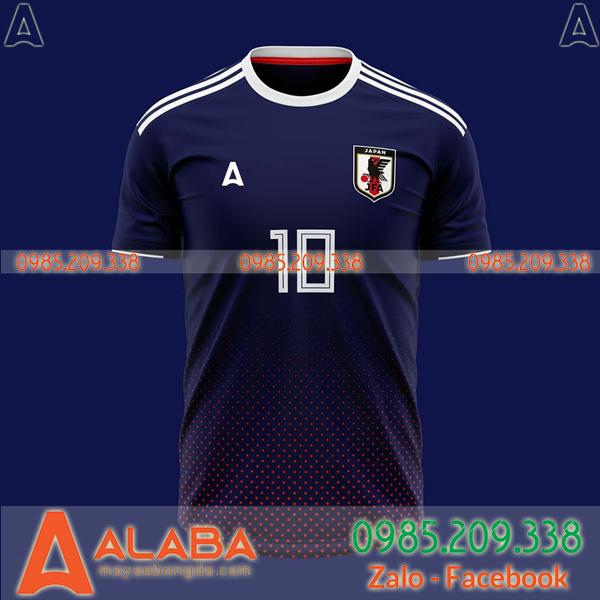Áo đội tuyển Nhật Bản màu tím than đẹp