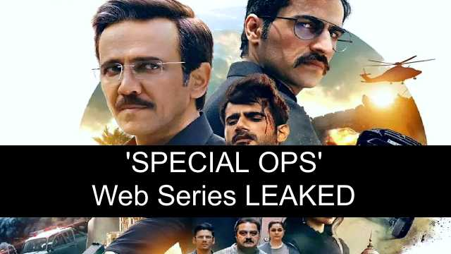 Special OPS Web Series Download Leaked by Movierulz, Tamilrockers, Mp4movies