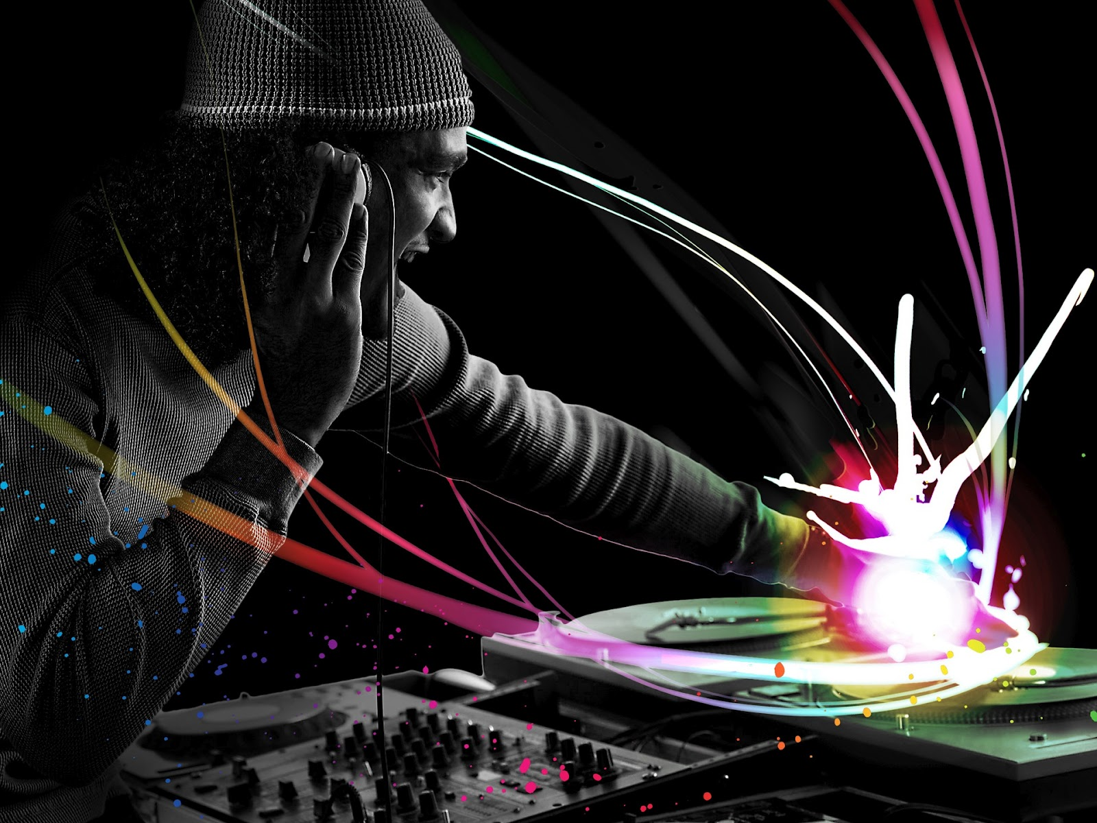 Cool Abstract Dj Music Wallpaper: DJ Songs & HD Wallpapers