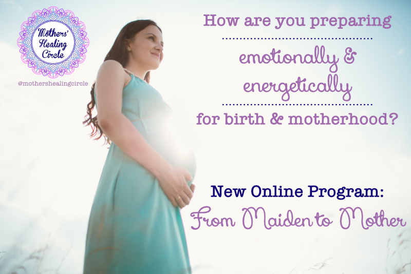 childbirth education course birth prep preparation motherhood transition maiden to mother energetic birth prep emotional spiritual