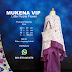 Mukena Vip Little Purple Flower