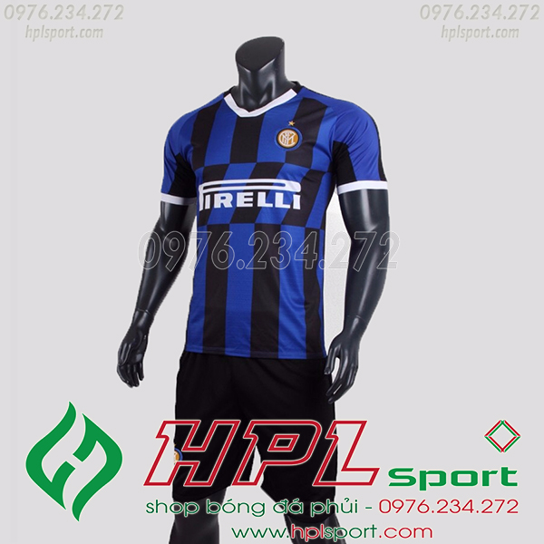 Áo câu lạc bộ Inter Milan màu xanh 2020