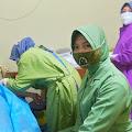 Peringati HUT TNI Ke-76, Kodim 0716 Demak Gelar Pelayanan KB di Klinik Irma Solikin Mranggen