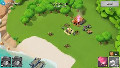 تحميل لعبة boom beach أخر أصدار  للاندرويد والايفون
