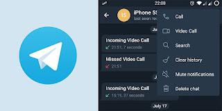 Telegram Video Call feature