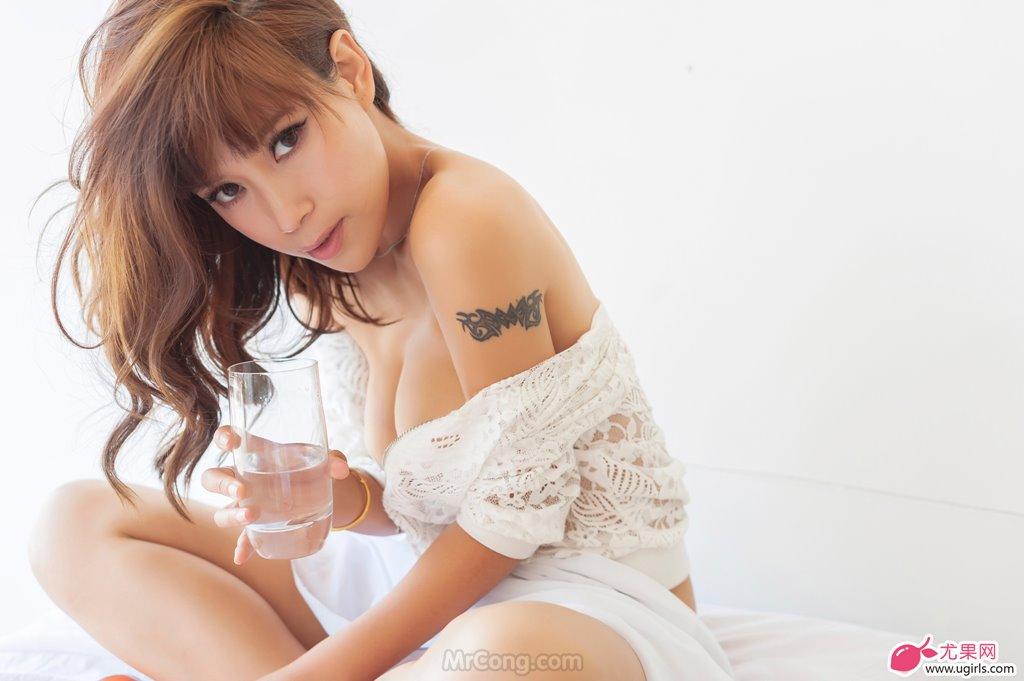 Image MrCong.com-UGIRLS-020-Tian-Yi-Yi-016 in post Người đẹp Tian Yi Yi (田依依) khoe ngực trần sexy trong bộ ảnh UGIRLS 020