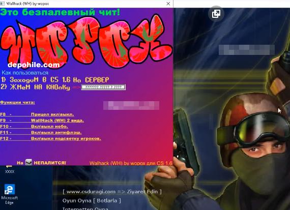 CS 1.6 Wopox Wallhack Hilesi 2019 Güncel Yeni