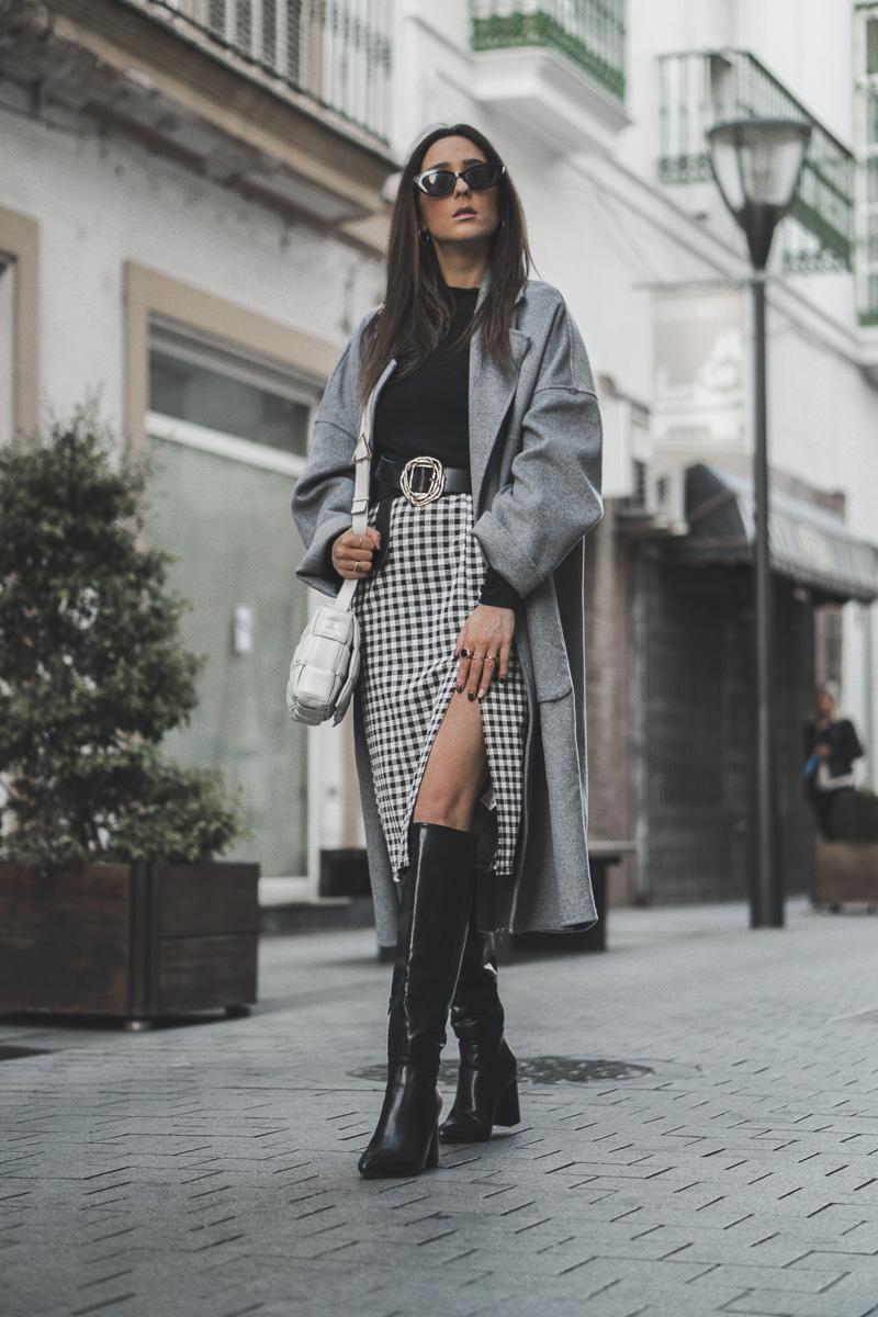 abrigo gris - como elegir abrigos
