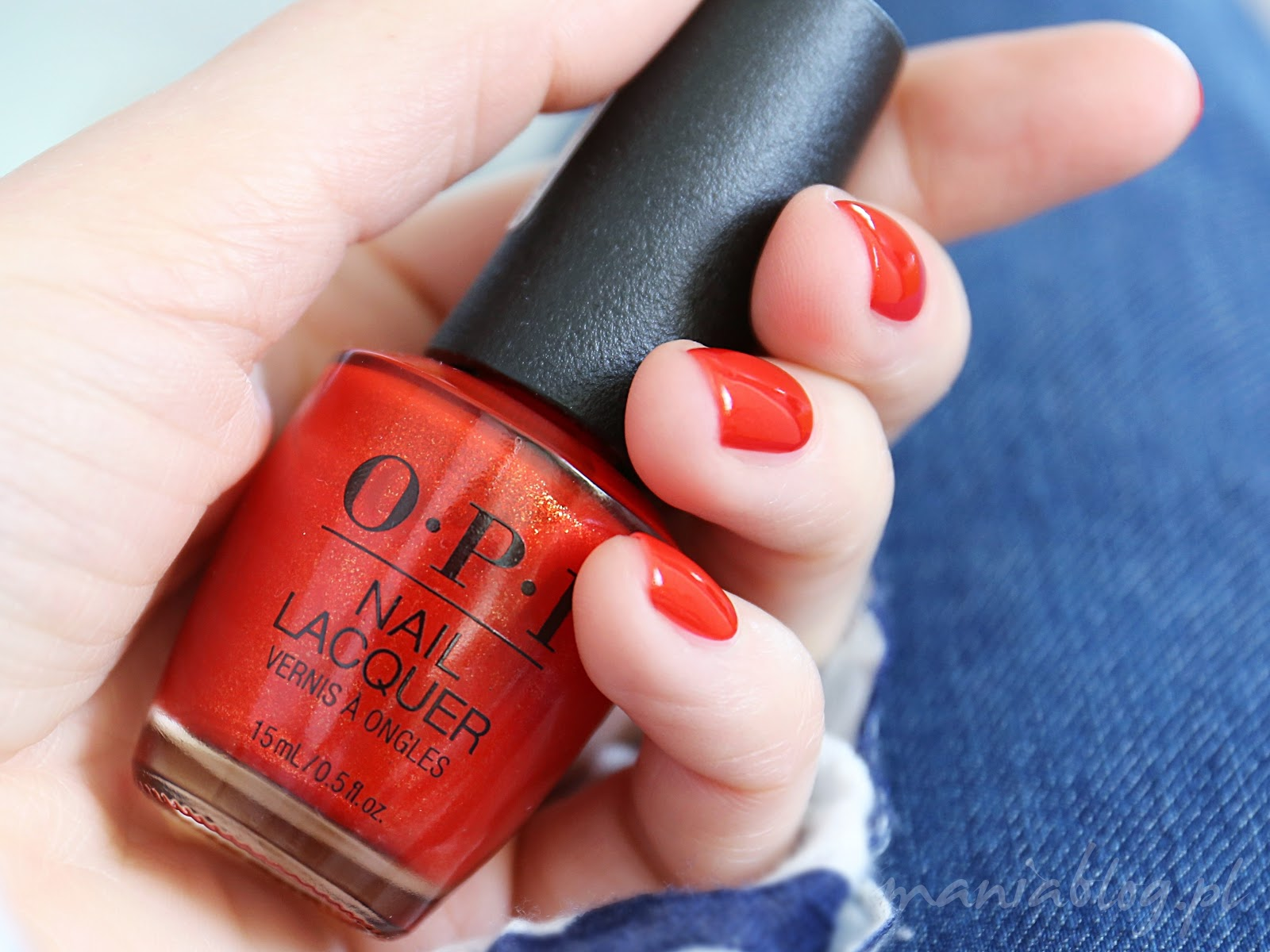 OPI I Absolutely Amador-ya