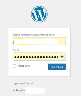 Login Admin Wordpress