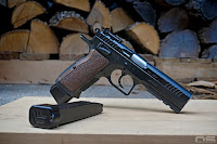 uspsa tanfoglio, magazine extensions, review, multigun custom grips