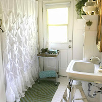 Simple color and shower curtain design ideas