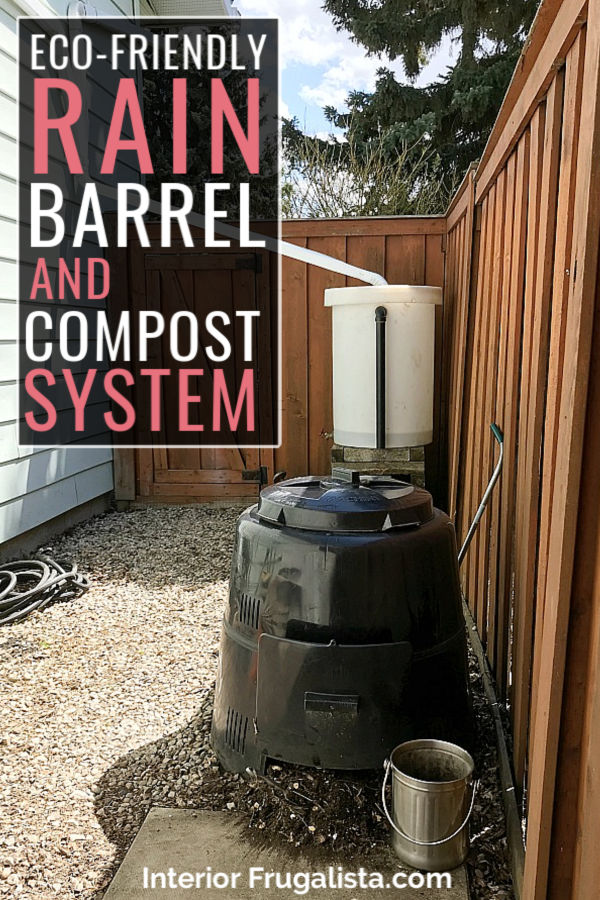 DIY Eco-Friendly Rainwater Collection and Compost-System