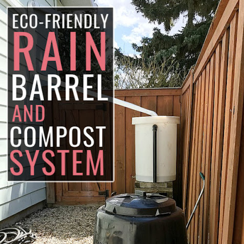 DIY Eco-Friendly Rainwater Barrel and Compost Bin