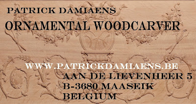 The CARTOUCHE in wood and stone | The ORNAMENT CARTOUCHE | Wooden cartouche